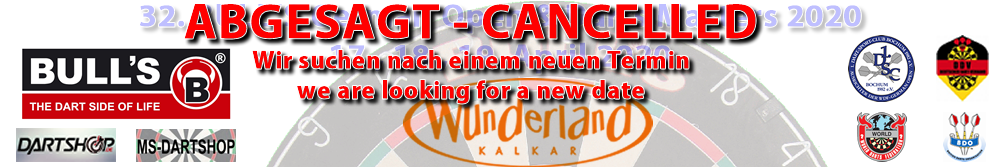 32. BULL'S German Open 2020