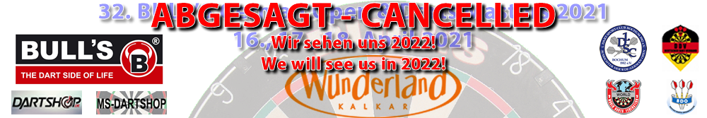 32. BULL'S German Open 2021